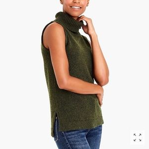 J. Crew Turtleneck Sweater Tank Top